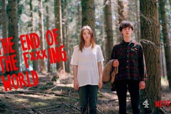 Oscuridad y humor en The end of the f**king world